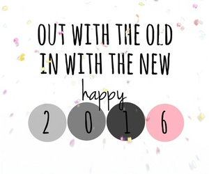 2016, beautiful, and happy new year image