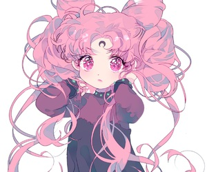 sailor moon, anime, and chibiusa image