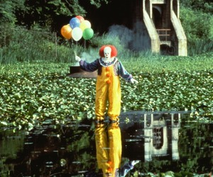 it, clown, and horror image
