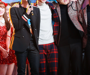 bts, jin, and b1a4 image