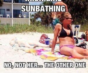 beach, sun, and fun image