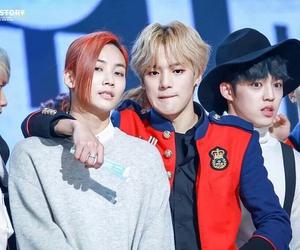 minhyuk, monsta x, and jeonghan image