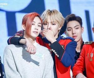Seventeen, minhyuk, and jeonghan image