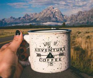 adventure, coffee, and find image
