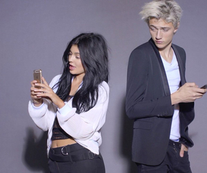 kylie jenner and lucky blue smith image