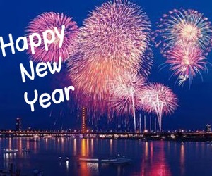 firework, hope, and new year image