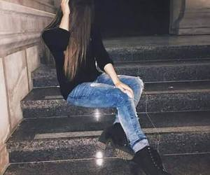 black, cool, and jeans image