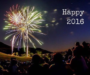 2016 and firework image