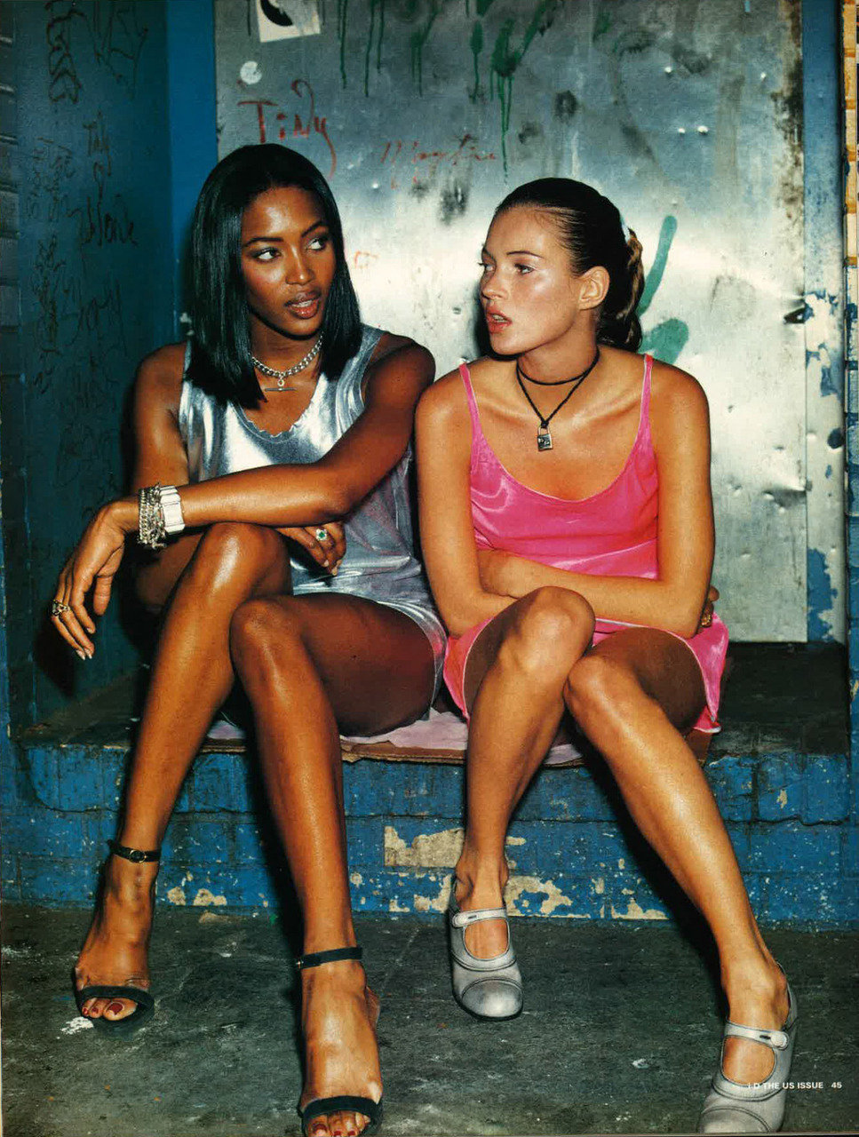 Naomi Campbell and kate moss image