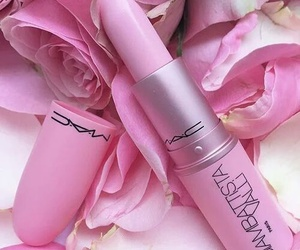 lips, pink, and rose image