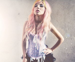 corset, girl, and hair image