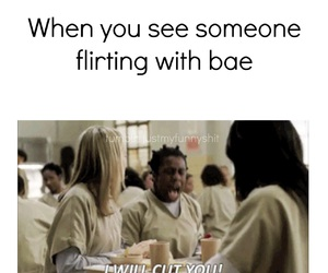 bae, crazy, and crazy eyes image