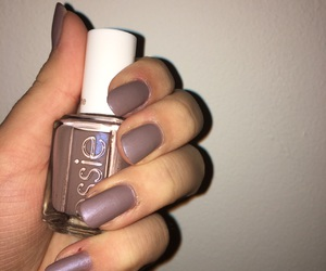 2016, matte, and nails image