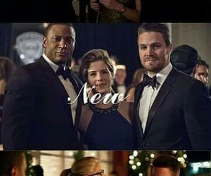 arrow, happy new year, and oliver queen image