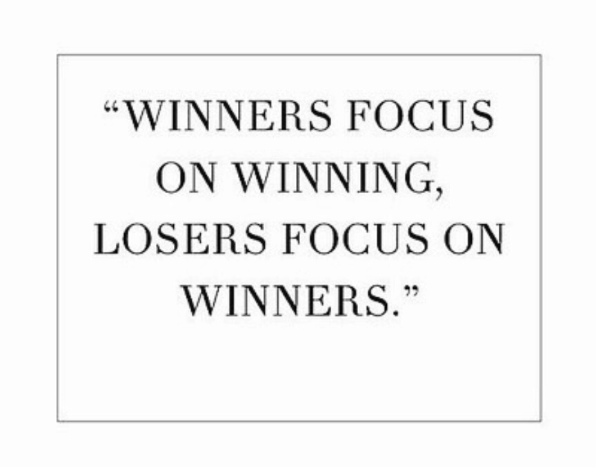 quote, winner, and focus image