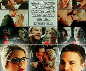 arrow, otp, and perfect couple image
