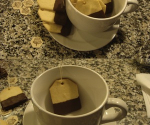 cofee, cup, and cookie image