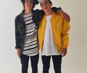 hayes grier, nash grier, and magcon image