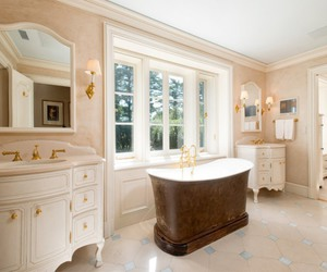 bathroom, connecticut, and dream home image