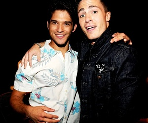 tyler posey, colton haynes, and teen wolf image