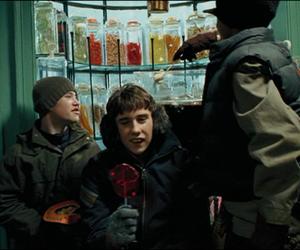 dean, harry potter, and hogwarts image