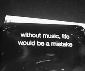 music, life, and mistakes image