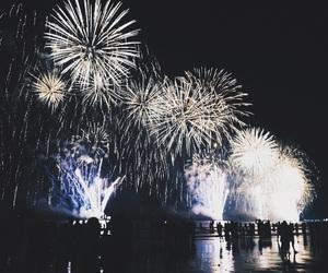 2016, beach, and firework image