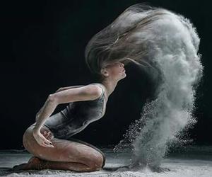 dance, art, and hair image