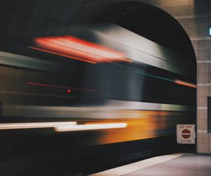 train, tumblr, and photography image