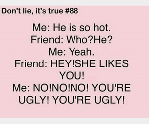 crush, funny, and truth image