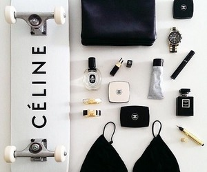 celine, makeup, and chanel image