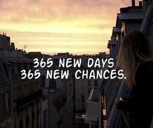 chance, day, and 365 days image