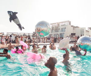 summer, party, and fun image