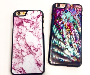 marble, iphone case, and phone case image