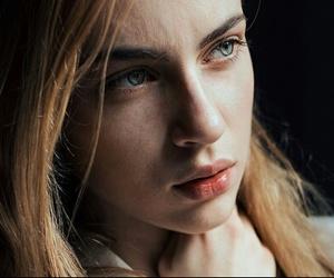 blonde, blue, and eyes image