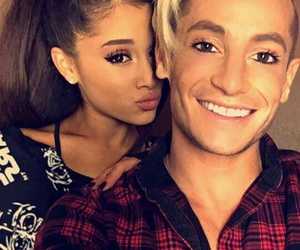 ariana grande, frankie grande, and brothers image
