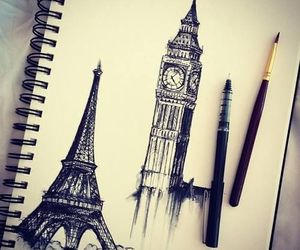 paris, london, and art image