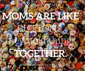 buttons, mother's day, and mothers image
