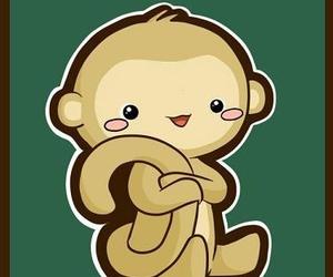 2016, kawaii, and monkey image
