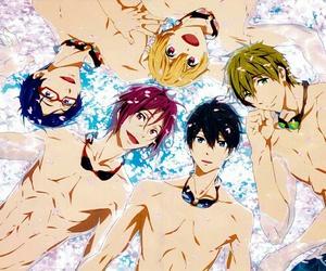 anime, haruka, and free! image