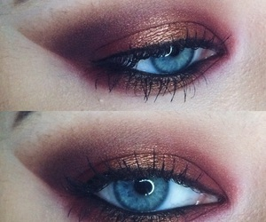 blue eyes, copper, and cranberry image