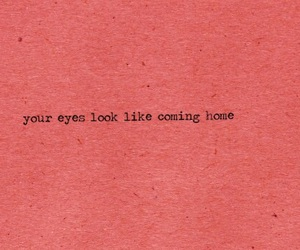 eyes, home, and saying image