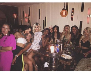 party, jenner, and kylie jenner image