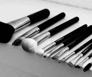Brushes, mac, and make up image