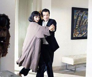 pulp fiction, John Travolta, and movie image