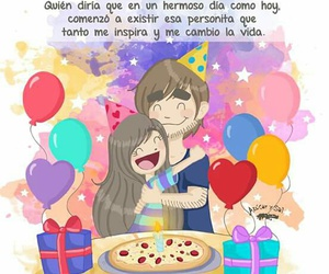 azucar y sal and happy birthay image