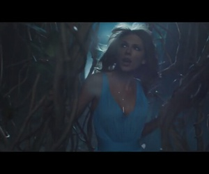 1989, blue dress, and out of the woods image
