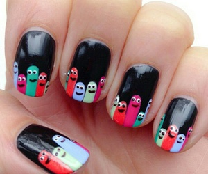 lacquer, manicure, and monsters image