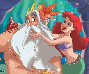 ariel, mermaid, and sirenetta image