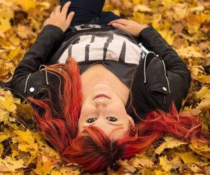 autumn, redhead, and betzypictures image